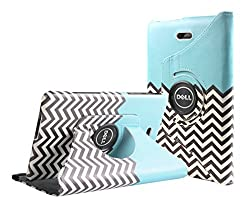 Dell Venue 8 Pro Case, E LV Dell Venue 8 Pro Case Cover 360 rotating Lightweight case for Venue 8 Pro 32GB 64GB Tablet (Windows Tablet) (will only fit Dell Venue 8 Pro tablet) - ZIGZAG