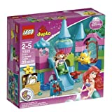 Toy / Game Lego Duplo Princess Ariel Undersea Castle 10515 With Transparent Rounded And Decorated Seashell