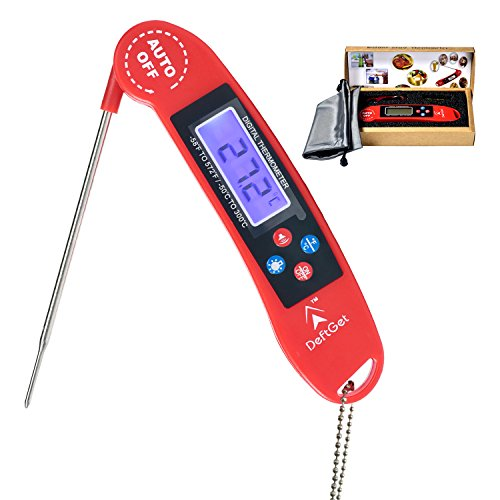 Instant read thermometer digital great for bbq meat baking steak