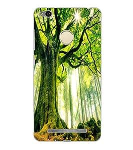 XIAOMI REDMI 3S PRIME GREEN TREE Back Cover by PRINTSWAG