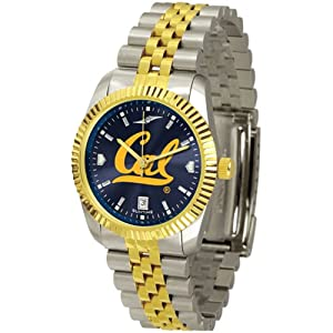 California Golden Bears NCAA AnoChrome Executive Mens Watch by SunTime