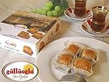 クルミ入りバクラヴァ(バクラワ) 9粒入り/トルコ輸入食品・ギュルオウル社~パイ生地にはちみつの甘いトルコのお菓子