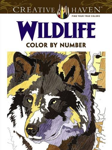 Creative Haven Wildlife Color by Number Coloring Book (Creative ...