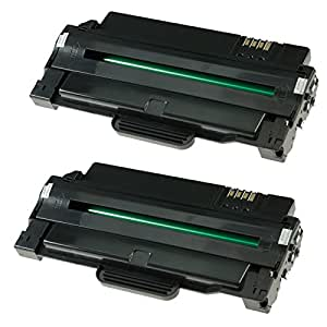 Ti-Sa rebuilt Toner ersetzt MLT-D1052, Drucker u.a. ML1910 (2-er pack)