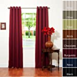 Burgundy Grommet Top Thermal Insulate...