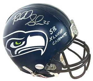 Richard Sherman Autographed Signed Seattle Seahawks Riddell Full Size NFL Helmet SB...