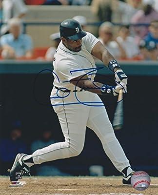 Cecil Fielder Detroit Tigers MLB 8x10'' Autographed Photograph - Home Uniform