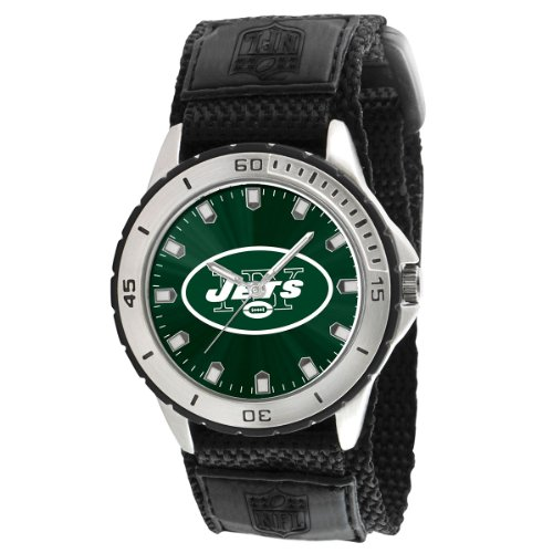 Game Time Men's NFL-VET-NYJ Veteran Custom New York Jets Veteran Series Watch at Amazon.com