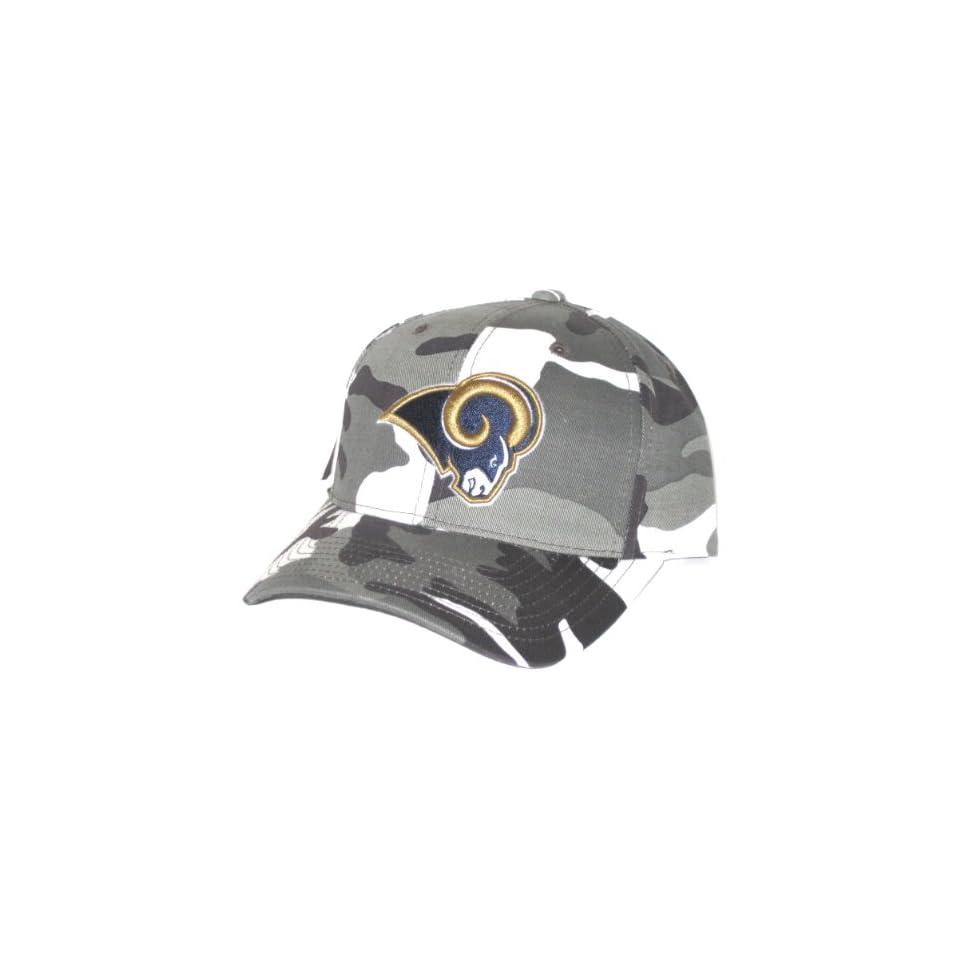 St. Louis Rams NFL Black   White Camo Hat Sports on PopScreen 939e7ca68