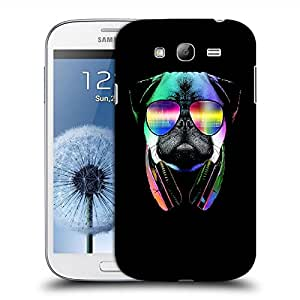 Snoogg Music Dog Designer Protective Back Case Cover For SAMSUNG GALAXY GRAND DUOS I9082