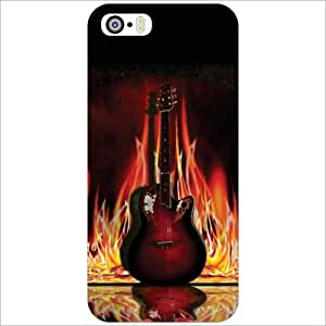 Printland Back Cover For Apple iPhone 5S - Music Life Phone Cover (Printed Designer)
