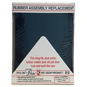 "Pride Pet Doors Rubber Assembly Replacement Pet Door Medium - (14.5""L x 10.5""W) Accessory"