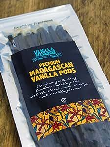 VanillaMart 20 Premium Gourmet Madagascan Vanilla Pods (Vanilla Beans)