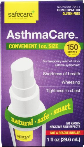Safecare+ AsthmaCare Homeopathic Spray