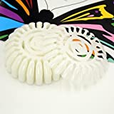 Beauticom (Quantity: 10 Pieces Wheel) Nail Art 24 Tips Display Wheel For Practicing Nails Or Displaying Nail Art Work