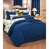 American Denim Twin XL Bedding Set - Comforter, Shams