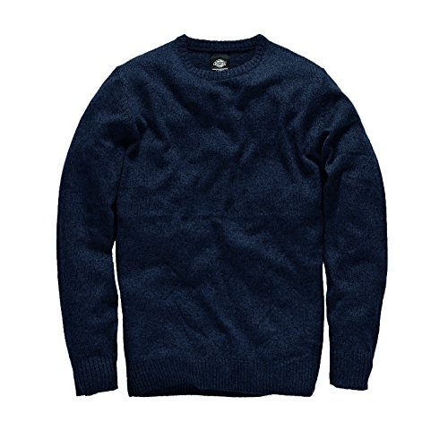 Dickies - Pullover Shaftsburg, Felpa Uomo, Blu (Dark Navy), Medium (Taglia Produttore: Medium)