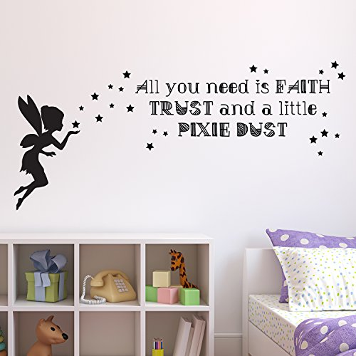 vc-designs-tm-tinkerbell-all-you-need-is-faith-wall-sticker-wall-quote-lettering-vinyl-decal-mural-i