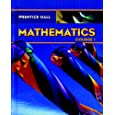 PRENTICE HALL MATH COURSE 1 STUDENT EDITION