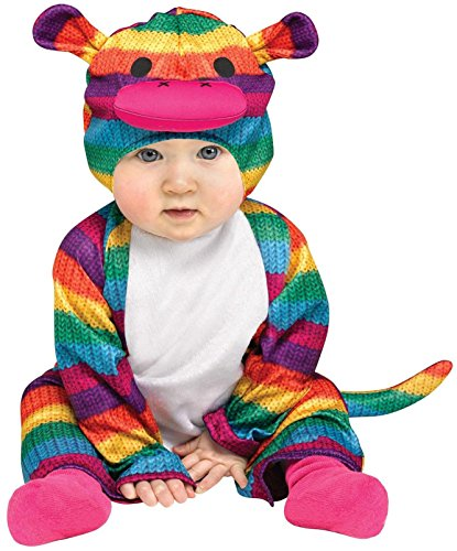 Fun World - Rainbow Sock Monkey Toddler Costume