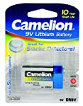 Camelion Lithium Block Battery, 9 V, Type ER9 V 1200 mAh Blister Pack of 1 from Camelion