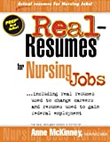 img - for Real-Resumes for Nursing Jobs book / textbook / text book