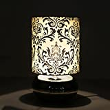 Rounds And Rounds White And Black Modern And Decorative Table Lamp