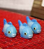 Blackberry Overseas Set Of 3 Decorative Fish Shaped Candles.