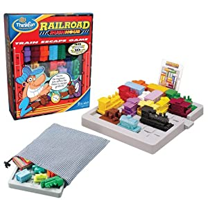 Click to buy Think Fun Railroad Rush Hour from Amazon!