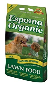 Espoma NL30 30-Pound All Natural Organic Lawn Food 7-2-2 (Discontinued by Manufacturer)