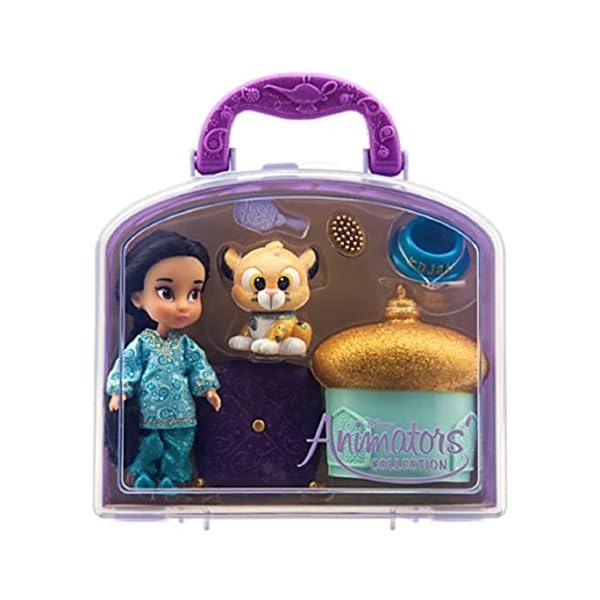 "c14b1e8befe Disney – Disney Animators  Collection Jasmine Mini Doll Play Set – 5"" – New"