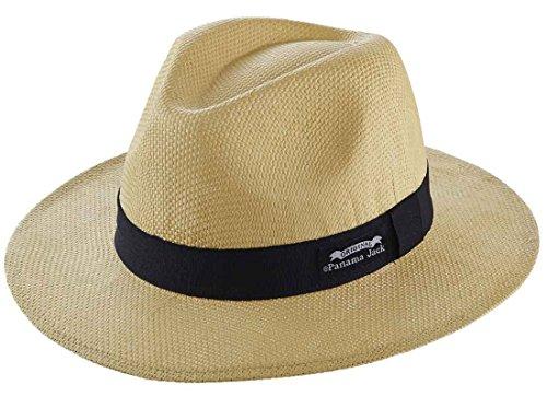 Original Panama Jack Matte Toyo Straw Safari Sun Hat,Natural, S/M (Panama Jacks compare prices)