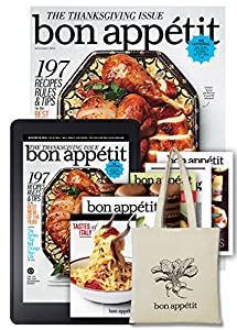 Bon Appetit All Access + Free Canvas Tote and Six Digital