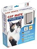 Cat Mate Lockable Cat Flap with Door Liner White