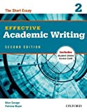 img - for Effective Academic Writing 2e Student Book 2 2 Pap/Psc by Savage, Alice, Mayer, Patricia (2012) Paperback book / textbook / text book
