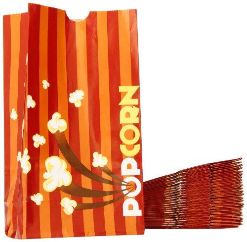 Snappy Popcorn 46 oz Theater Popcorn Bags, 100/Case, 3 Pound (Popcorn Bag Flat compare prices)
