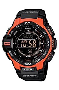 G-Shock 'Pro Trek' Triple Sensor Digital Watch, 52mm