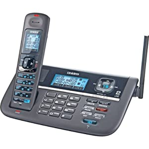 New-Uniden Dect 6.0 2-Line Expandable Cordless Telephone With Dual Key Pad, Digital Answering System And Caller ID - 1 Handset - CA0677