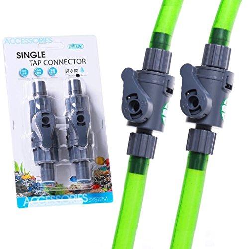 ISTA 2pcs SINGLE Tap connector 12mm Control Valve Quick TAP- HOSEING FILTER Flow (Aquarium Tap Water Filter compare prices)