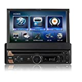TUVVA KSD7813 In-Dash Car Stereo with Smartphone Control 1-DIN 7