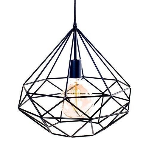 suspension-azalee-metal-noir-lignes-droites-ampoule-filament-scandinave-moderniste-industriel-plafon