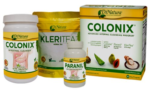 DrNatura - Colonix - Internal Cleansing Program (Liver, Kidney, Colon, Parasite Cleanse) - 1 x Complete Pack