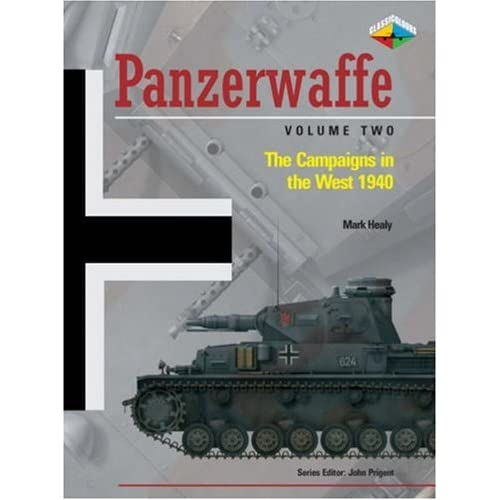 Classic Colours - Panzerwaffe The Campaigns in the West 1940 51xedPjcvOL._SS500_