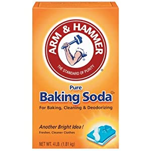 Image: Arm + Hammer Baking Soda (01170) 4 lb. box - Freshens and deodorizes