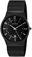 Skagen Black Mesh Titanium Men's Watch