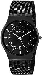 Skagen Black Mesh Titanium Men's Watch