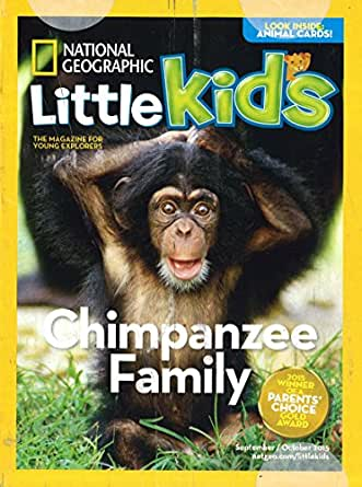 What Is The Age For National Geographic Little Kids Magazine