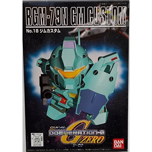 Bandai Hobby BB#18 GM Custom SD Action Figure