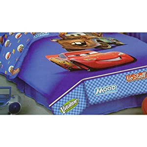 disney pixar the world of cars twin comforter reversible mcqueen