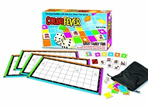 Color Fever Tile Game of Strategy and Luck